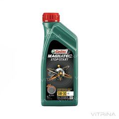 Масло моторное Castrol Magnatec Stop-Start 5W-30 A5 (15A16D) 1л | 4107996523